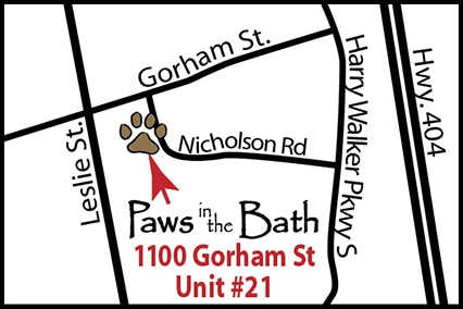 Paws in the Bath - Newmarket