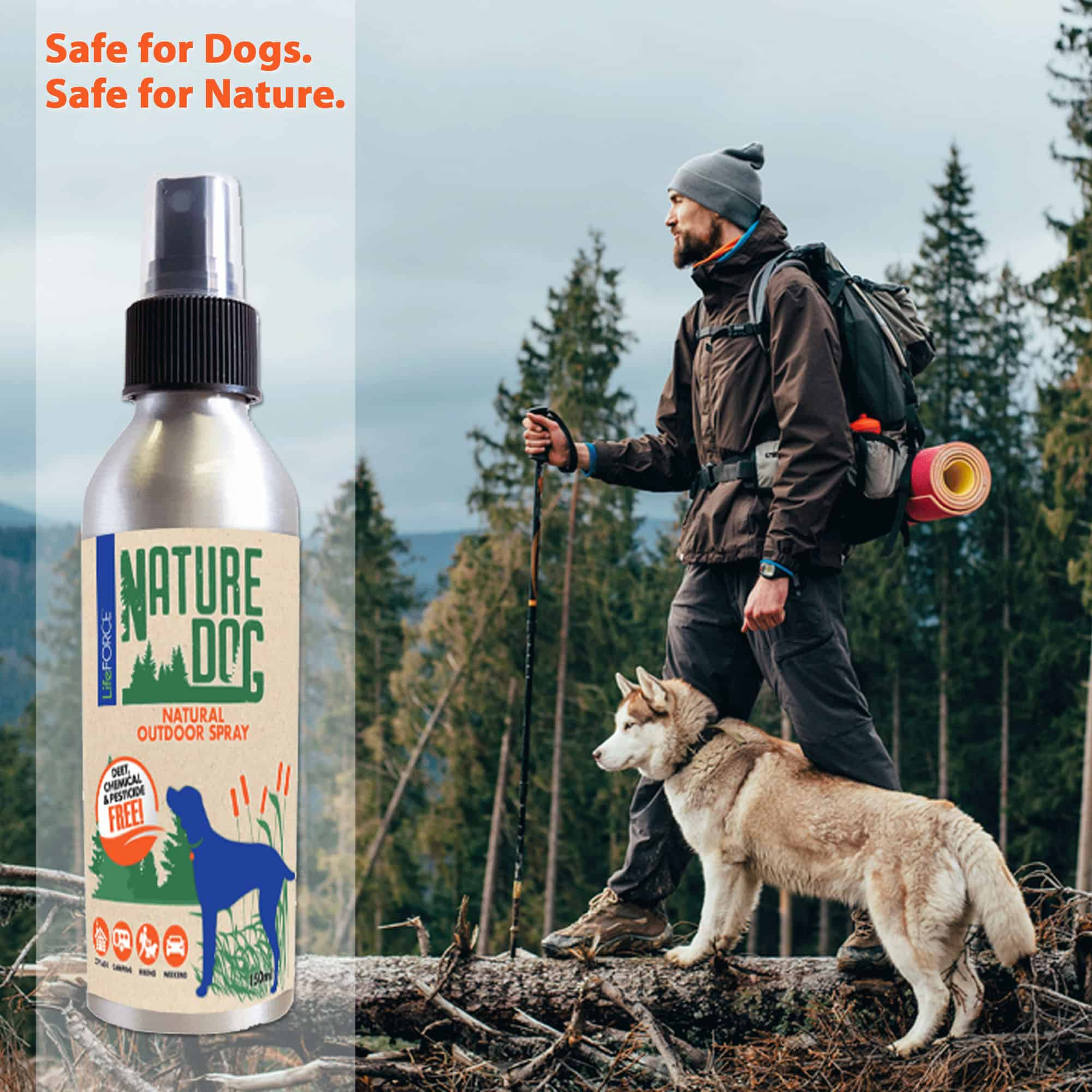 Nature Dog Natural Outdoor Spray